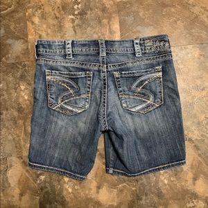 Silver Suki Bermuda jean shorts W31 W 31